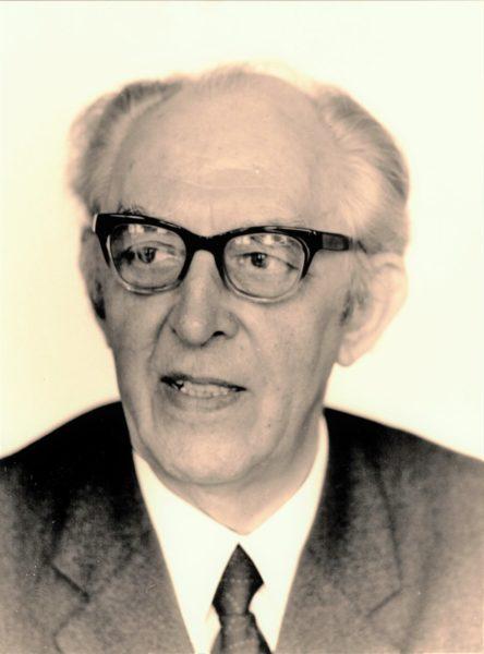 Max Baermann Jr. Portrait Ca. 1980